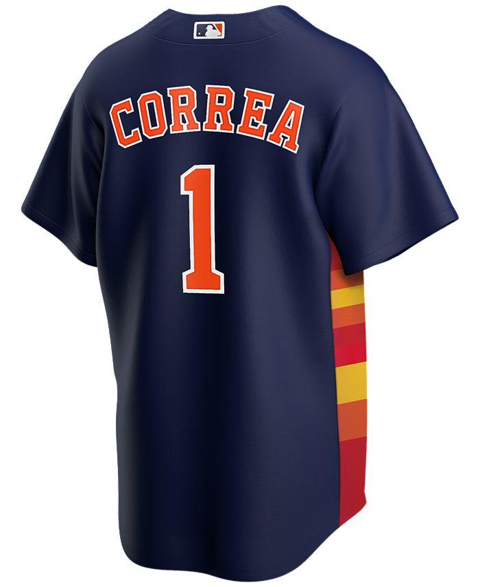 Men's Carlos Correa Houston Astros Official Player Replica Jersey