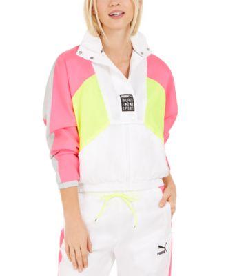 white puma track jacket