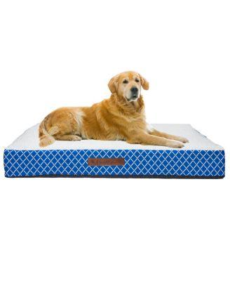 Atkins Lattice Small Orthopedic Pet Bed