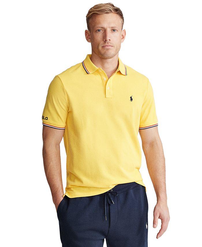 Polo Ralph Lauren Men's Classic-Fit Mesh Polo Shirt & Reviews ...