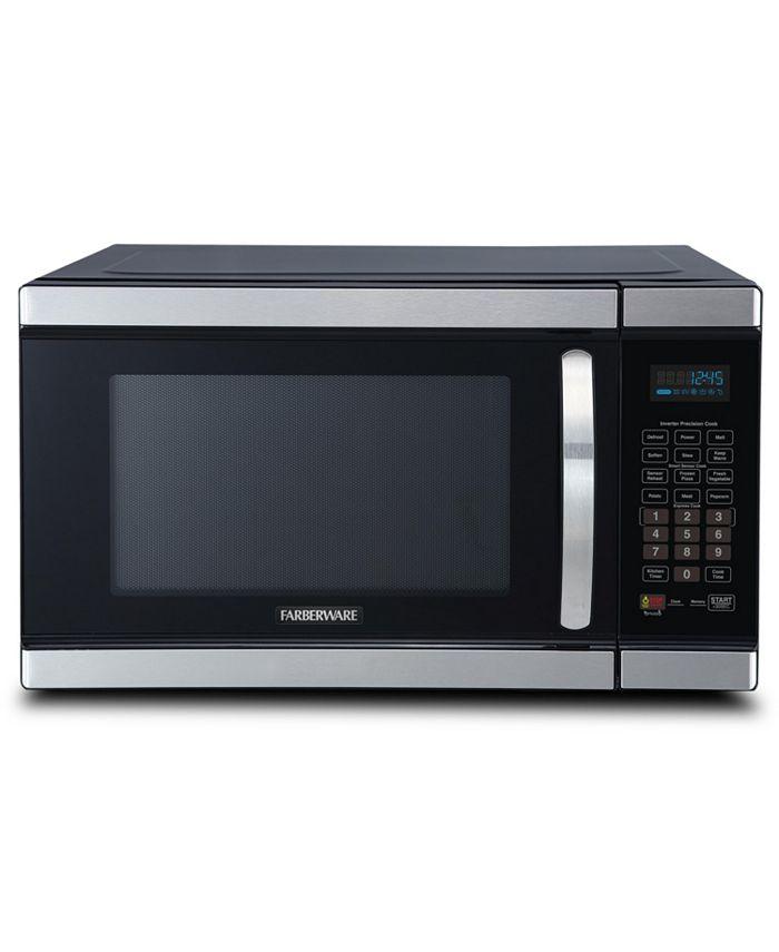 Farberware - Classic 1100-Watt Microwave Oven with Smart Sensor and Inverter Technology