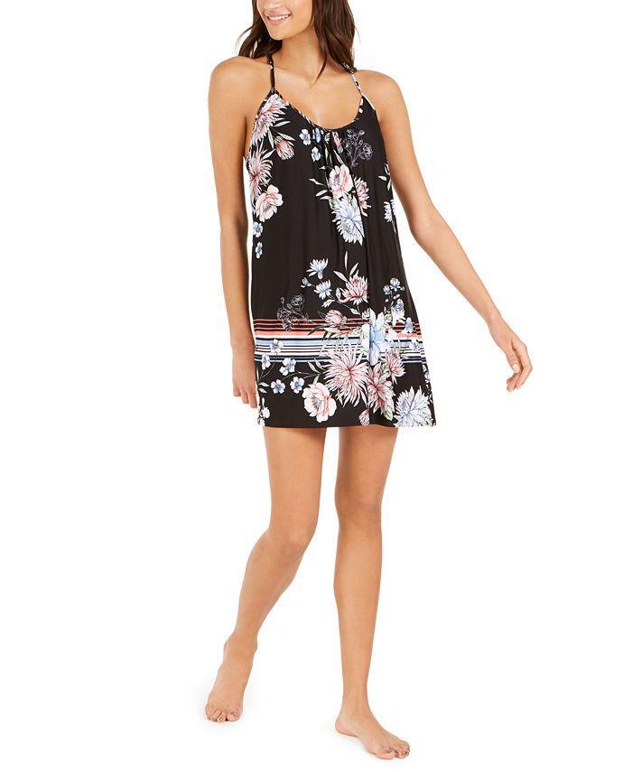 Linea Donatella - Flower Border Chemise Nightgown