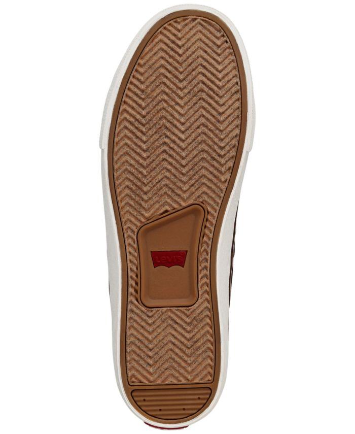 Levi's Men's Turner Tumbled Waxed Sneakers & Reviews - All Men's Shoes - Men - Macy's