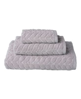 Romance 3-Pc. Turkish Cotton Towel Set