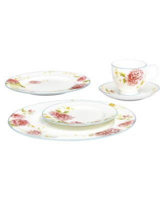 Peony Pageant Oval Vegetable Bowl