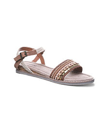 BEARPAW Women's Bali Flat Sandals