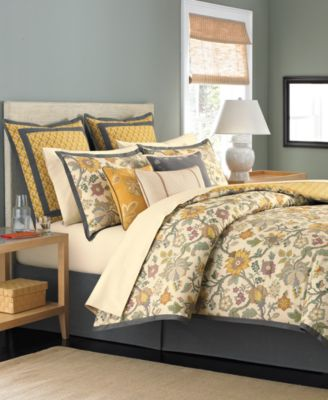 CLOSEOUT! Martha Stewart Collection Provence 6 Piece King Comforter Set