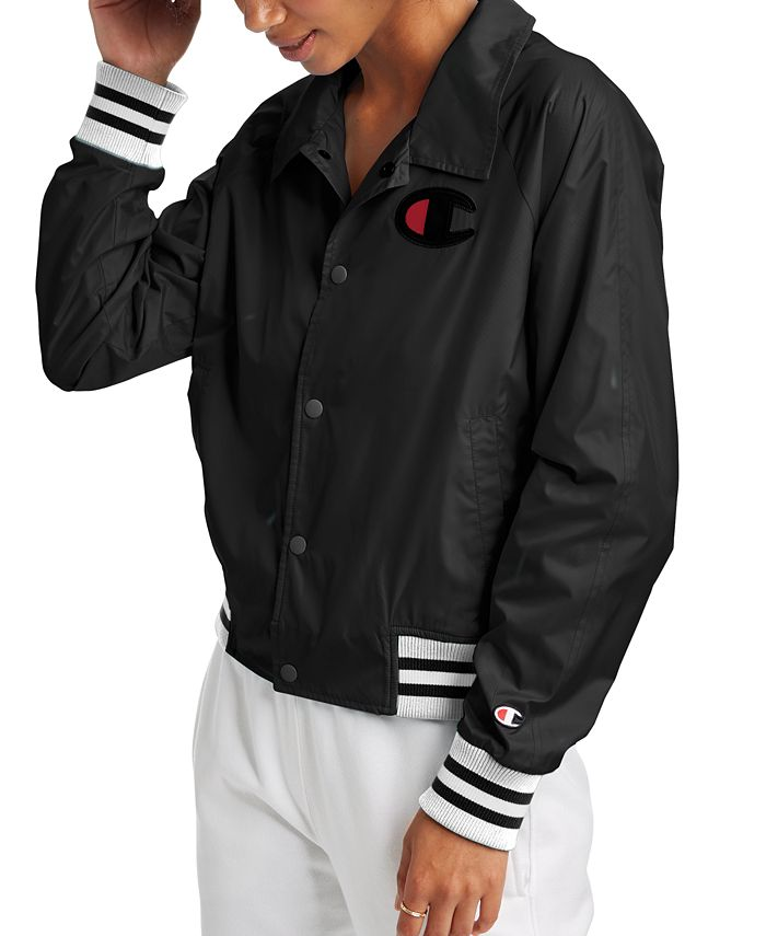 Champion - Water-Repellent Coach Jacket
