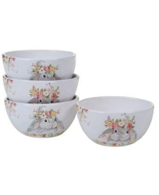 Sweet Bunny 4-Pc. Ice Cream Bowl asst.