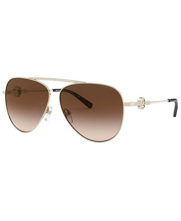 Michael Kors Women's Salina Sunglasses, MK1066B
