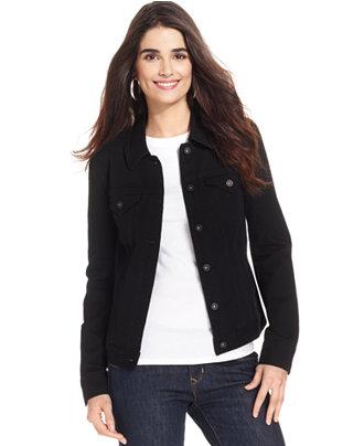 Black Womens Jean Jacket - Best Jacket 2017