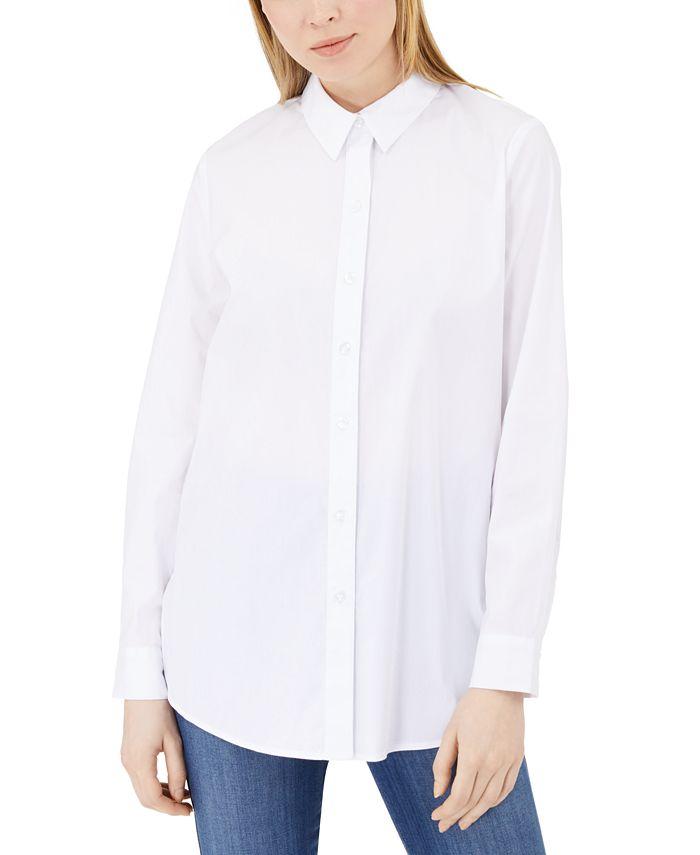 Calvin Klein Jeans - Split-Back Poplin Shirt