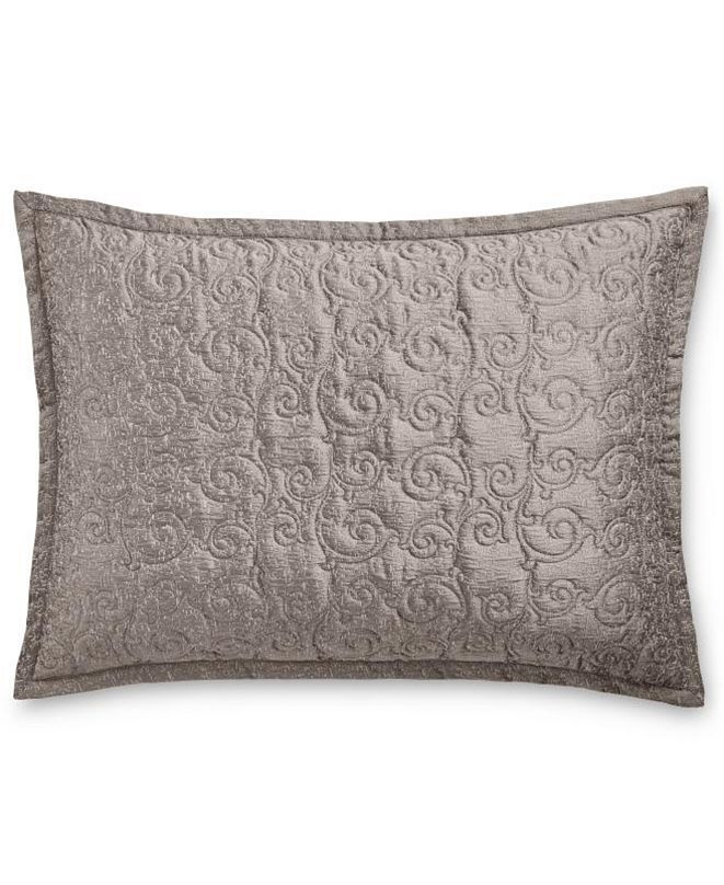 Hotel Collection CLOSEOUT! Classic Embossed Jacquard Quilted Standard Sham