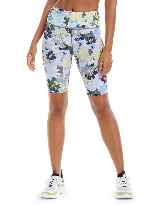 Calvin Klein - Printed High-Waist Bike Shorts