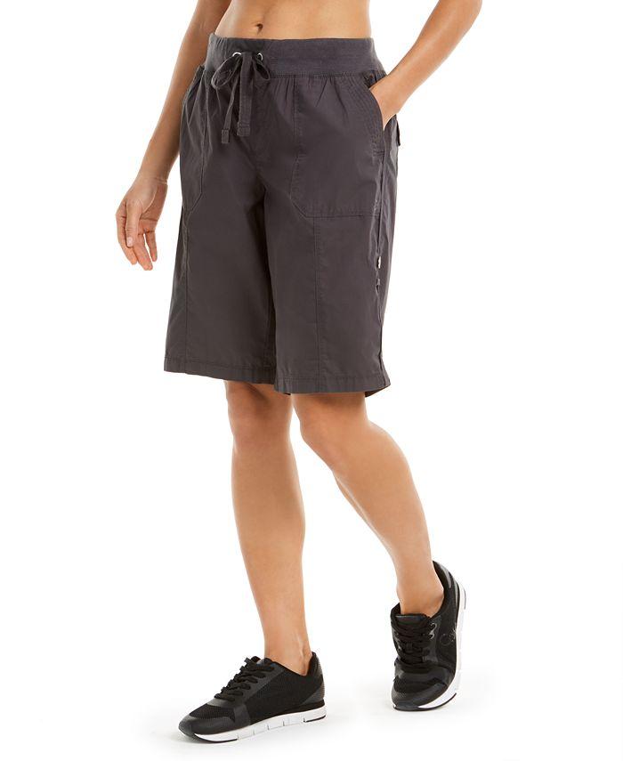 Calvin Klein - Camo Convertible Cargo Bermuda Shorts