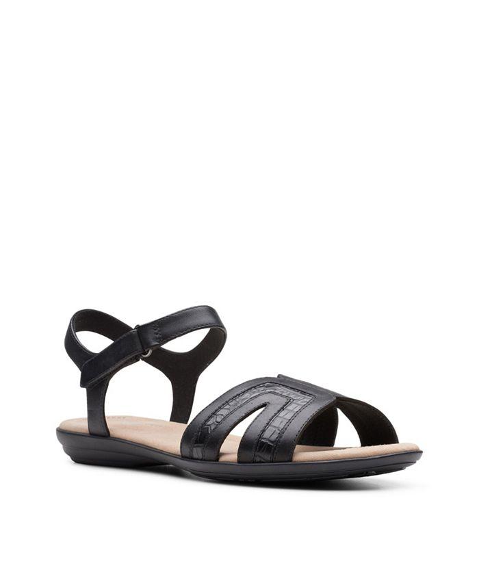 Clarks - Ada Mist Flat Sandals