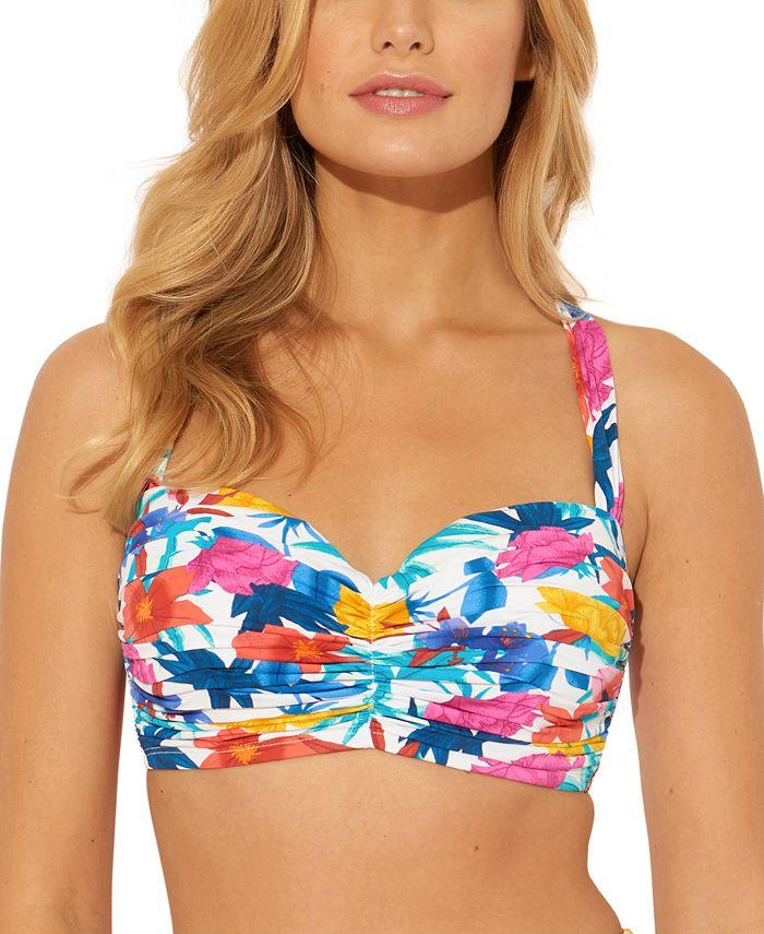 Bleu by Rod Beattie - Printed Underwire D/DD-Cup Bikini Top