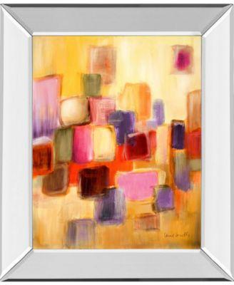Sonata II by Lanie Loreth Mirror Framed Print Wall Art, 22