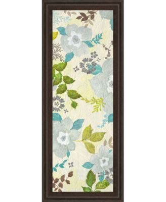 Fragrant Garden I by Tava Studios Framed Print Wall Art - 18