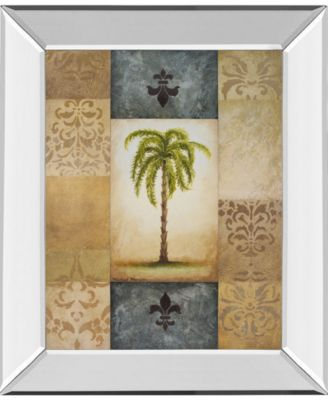 Fantasy Palm II by Michael Marcon Mirror Framed Print Wall Art, 22