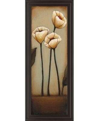 Jardin De Flores Il by H. Alves Framed Print Wall Art - 18