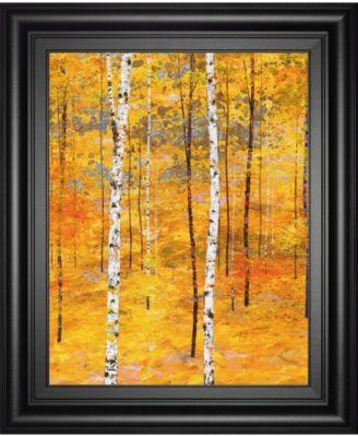 Iridescent Trees V by Alex Jawdokimov Framed Print Wall Art, 22