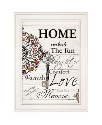 Home / Laughter by Robin-Lee Vieira, Ready to hang Framed Print, White Frame, 15