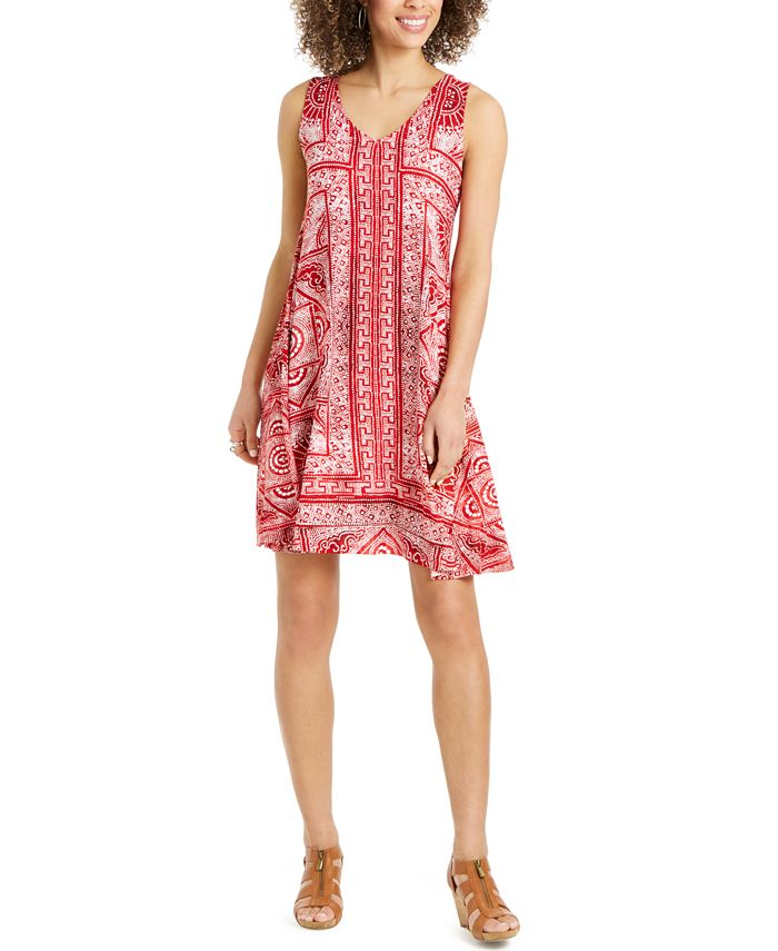 Style & Co - Sleeveless Swing Dress