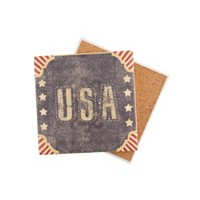 Deals on Thirstystone Vintage Stars & Stripes USA Coaster