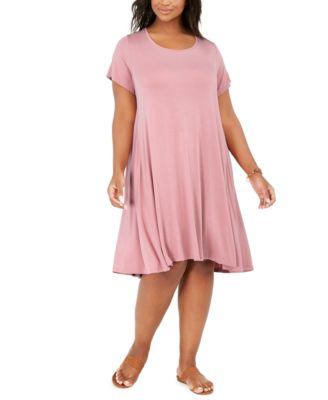 Style \u0026 Co Plus Size Short-Sleeve Swing
