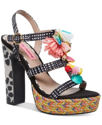 Betsey Johnson Marcy Dress Sandals