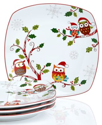 Holiday Theme Plates and Service Ideas