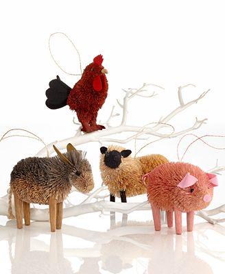 Martha Stewart Collection Set of 4 Farm Buri Animals ...