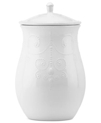 Lenox French Perle Cookie Jar