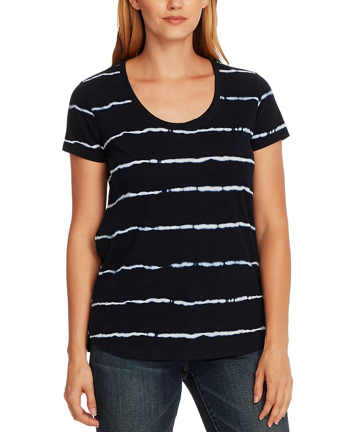 Vince Camuto - Linear Whispers T-Shirt