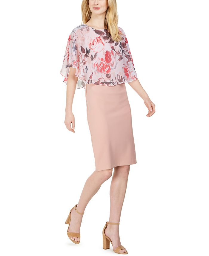 Connected - Chiffon Popover Dress