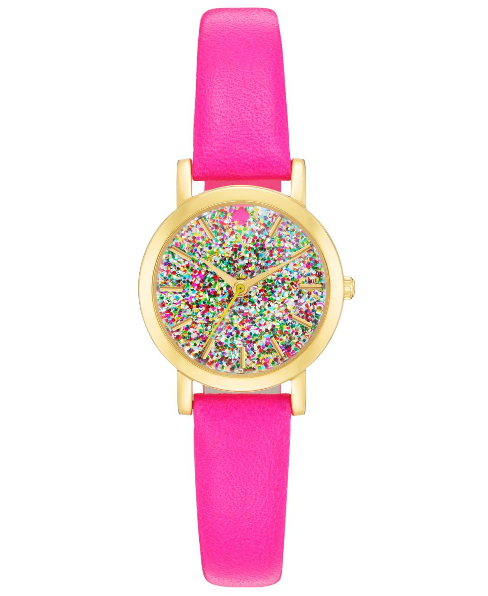 kate spade new york Watch, Womens Metro Mini Vivid Snapdragon Leather Strap 24mm 1YRU0269   Watches   Jewelry & Watches