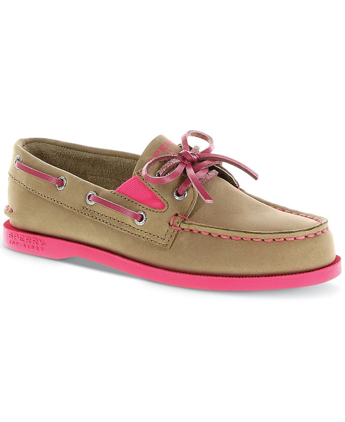 Sperry - Kids Shoes, Girls A/O Boat Shoes