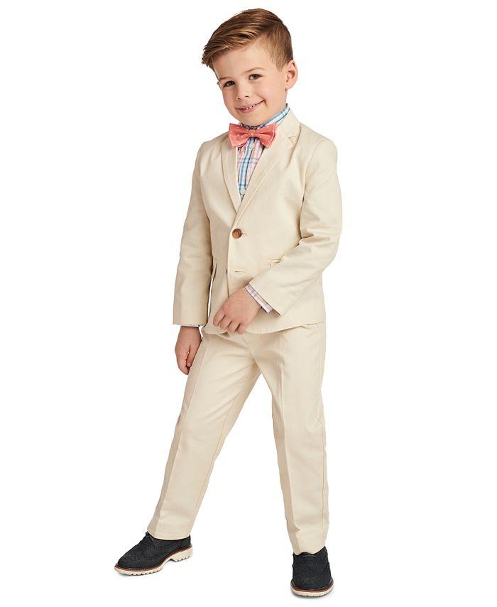 Nautica - Toddler Boys 4-Pc. Fine Twill Suit Set