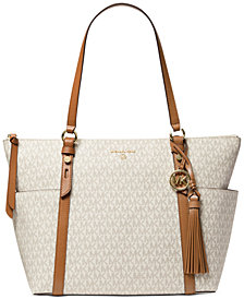 Michael Michael Kors Signature Sullivan Large Top Zip Tote