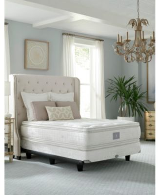 Classic by Shifman Luxury Coil Low Profile Box Spring - Queen, Created for Macy's