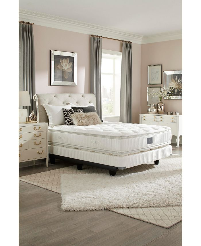 "Hotel Collection - Classic by Shifman Catherine 14.5"" Plush Pillow Top Mattress - Queen, Created for Macy's"