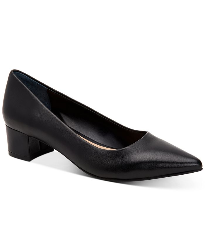 Alfani - Women's Step N' Flex Cashh Low Block-Heel Pumps