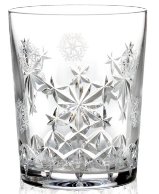Waterford Drinkware, 2013 Snowflake Wishes for Goodwill Double Old Fashioned Glass