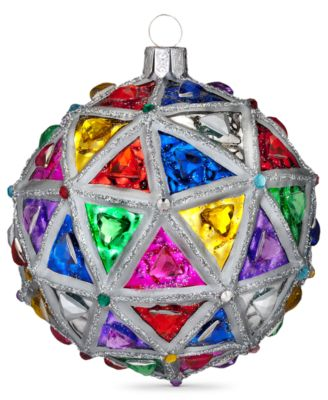"Waterford Christmas Ornament, 2014 Times Square 4"" Masterpiece Ball"