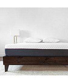 "SensorPEDIC 10"" 3-Layer Gel-Infused Memory Foam Firm Mattress - Queen"