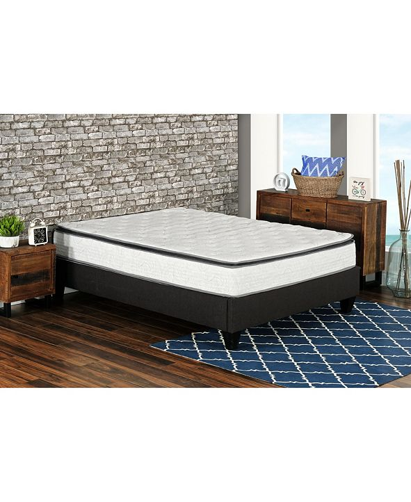 "Primo International Primo Berri 10"" Pocket Coil Lumber Gel Firm Mattress - Twin"