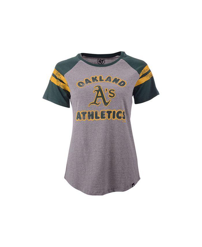 '47 Brand - Oakland Athletics Women's Fly Out Raglan T-shirt