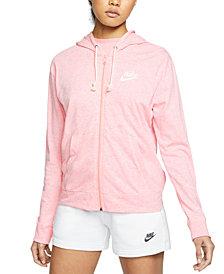 Nike Women's Sportswear Gym Vintage Zip Hoodie