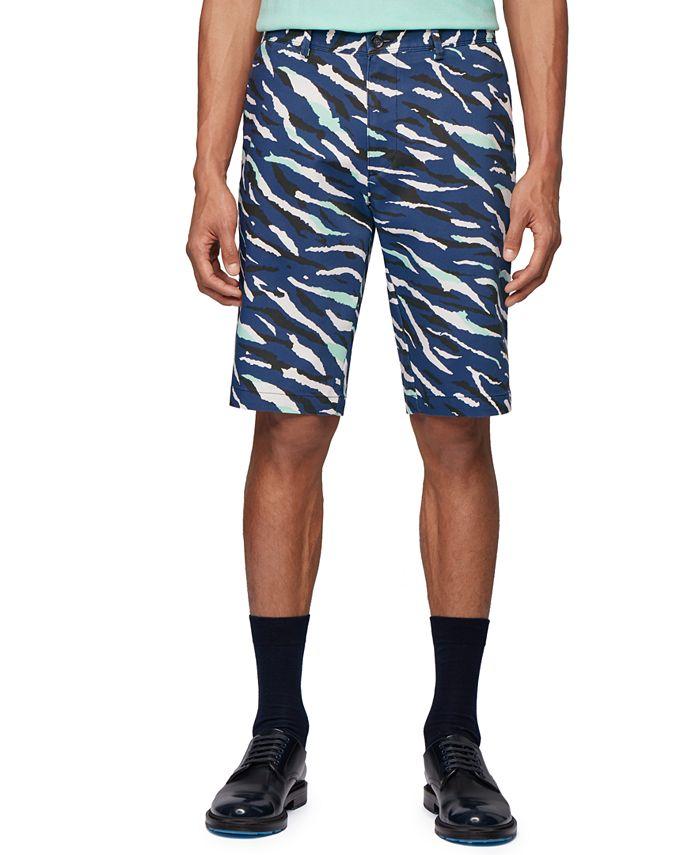 Hugo Boss - Men's Rigan Dark Blue Shorts